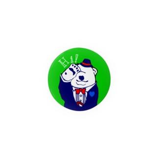 ジェントル白熊 Badges