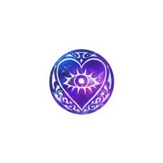 缶バッジ HS 宇宙(ブルー) Badges