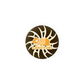 コロユキ・シンプル・エースの証(黒) Badges