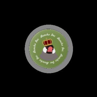 文鳥株式⭐️会社の文鳥さん 王冠 Badges