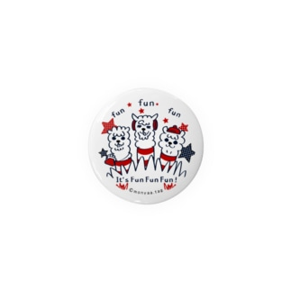 It'FunFunFun【B】44mm缶バッチ用  Badges
