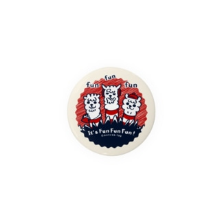 It'FunFunFun【C】44mm缶バッチ用  Badges