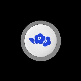 えの青い花 Badges