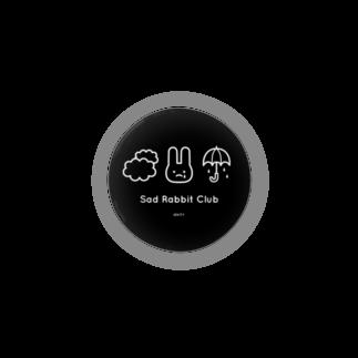 IENITY / MOON SIDEの【IENITY】Sad Rabbit Club #Black缶バッジ