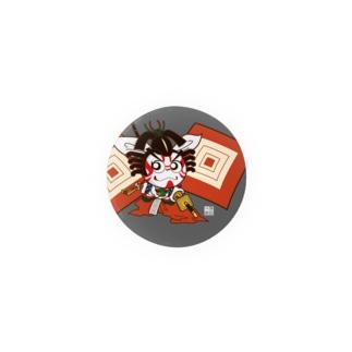 歌舞伎2等身キャラ:しばらく! Badges