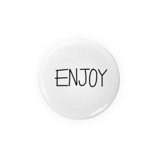 Enjoy 缶バッジ
