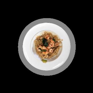 宮本菜津子 - Natsuko Miyamotoの蝦仁飯缶バッジ