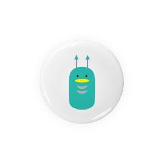 地球外生命体7(あおみどり) Badges