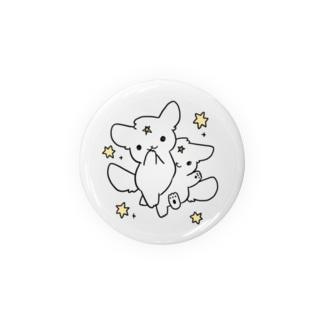 ふぃー犬ぶんしんのじゅつバッジ Badges