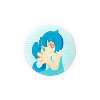 【二次創作】すいちゃん(56mm) Badges