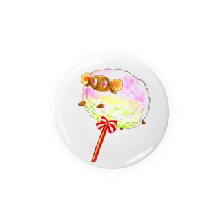 cotton  candy sheep Badges