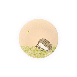 シロツメクサとハリネズミ Badges