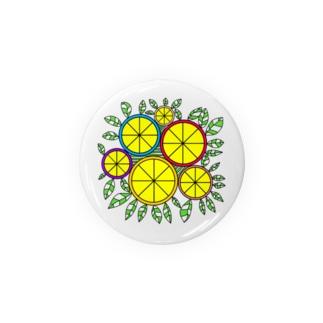 レモン Tin Badge
