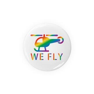 レインボー・ヘリコプター(WE FLY) Badges