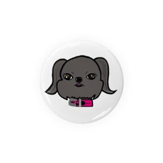 寧々goods(ベルジアングリフォン) Badges