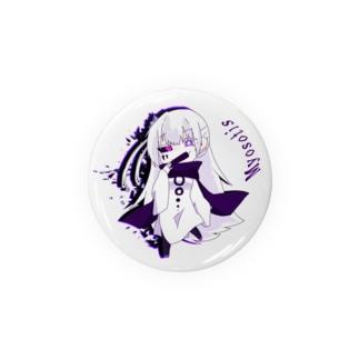 冥府王缶バッチ(初代) Badges
