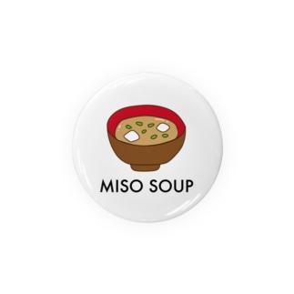 miso soup Badges