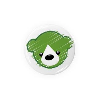 くまさんロゴマーク Badges
