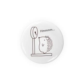 ハリネズミの体重測定 Badges