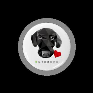 suzusimbaの豚鼻な黒ラブ Badges