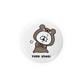ゆるうさぎ クマった Badges