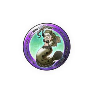 ウロハゼ人魚の『ウロ~ン』 Badges