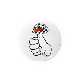 親指レディ(シンプル) Badges
