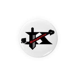 エンペラーグッズ ブラック Badges