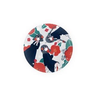 雪椿 Badges