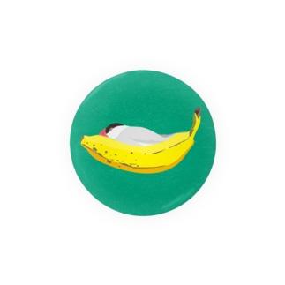 BANANA BED 桜文鳥 Badges