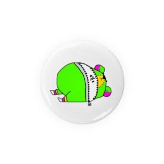 (・Σ・)の着ぐるみクマ Badges