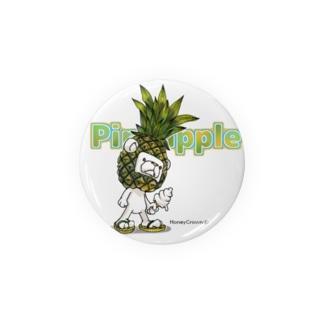 Pineappleシュガ〜 Badges