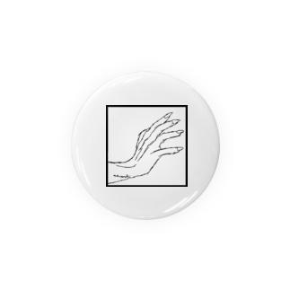 ストークハンド(white) Badges