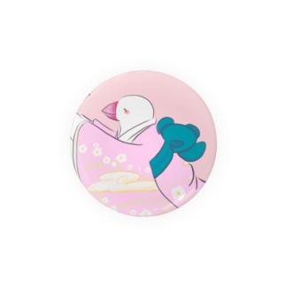 白文鳥の舞い Badges