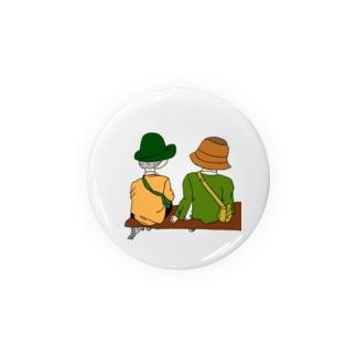 無言夫婦 Badges