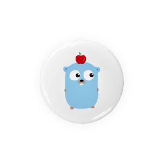 ティナのりんご on Gopherくん Badges