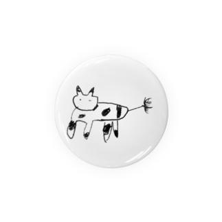 かわいい動物 Badges