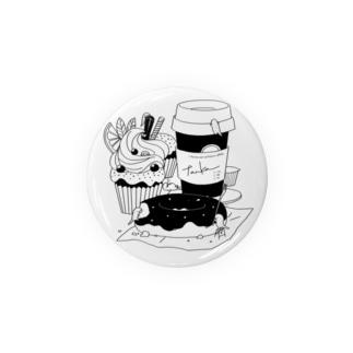 tanka/スイーツとオオサンショウウオ Badges