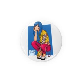 BAD GIRL Badges