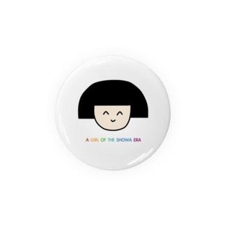 昭和の缶バッジ Badges