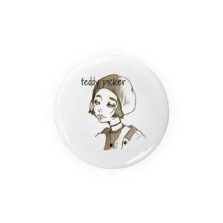 女の子2 Badges