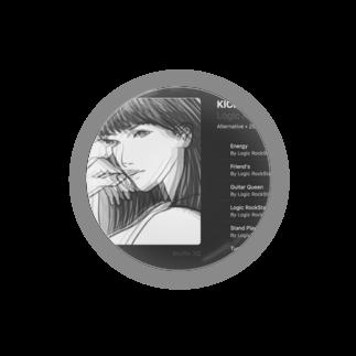 Logic RockStar  illustration Official StoreのKick Back  Badges