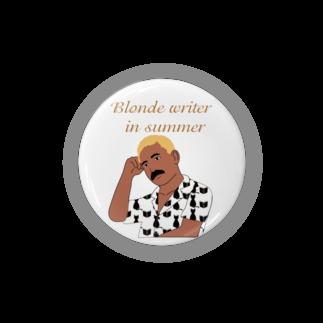 キッズモード某の夏の金髪の文豪 Badges