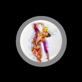lilli-starlingの新体操ガール パープル アクセサリー Badges