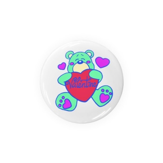 valentine bear🧸 Badges