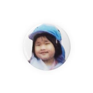 少女の缶バッチ Badges