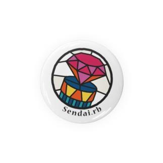 Sendai.rbロゴ Badges