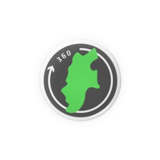 nagano360 - 公式グッズ Badges