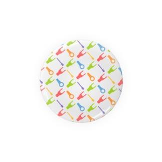 圧着端子パターン_カラー Badges