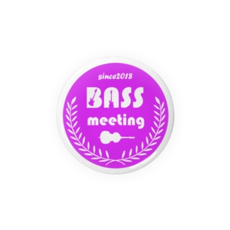 BASS MEETING (purple) Badges